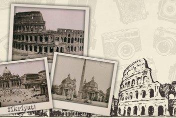 Osmanlı arşivinden fotoğraflarla Roma