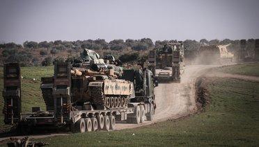 İdlibe Askeri Sevkiyat Sürüyor