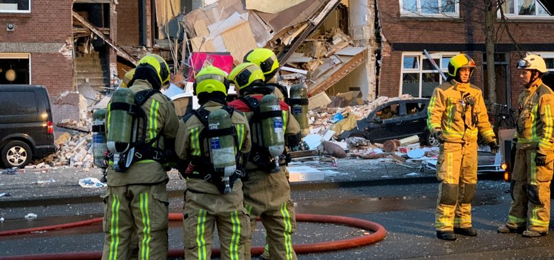 AT LEAST 9 INJURED AFTER RESIDENTIAL BUILDING COLLAPSES IN THE HAGUE