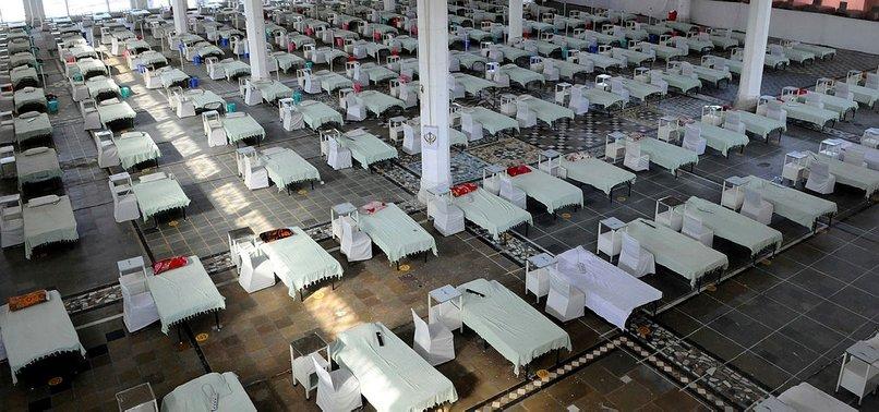 INDIA'S COVID-19 CASES SURPASS 20M
