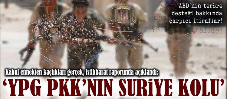 ABD istihbarat raporu: YPG, PKKnın Suriyedeki milis gücü