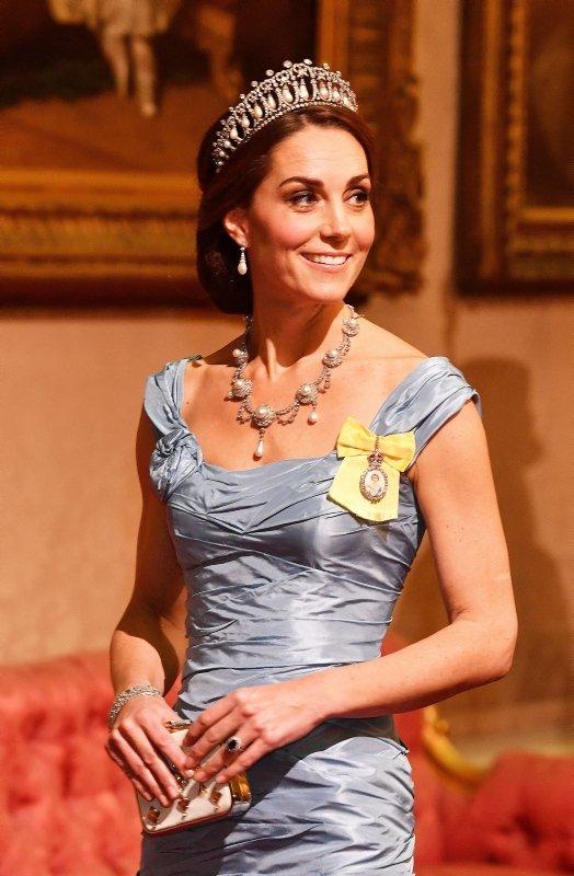 Kate Middleton, Lady Diana'nın emanetine sahip çıktı