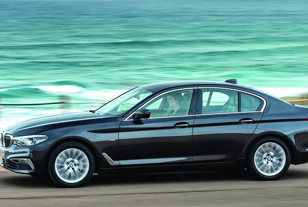 Sürüş izlenimi · BMW 5 Serisi