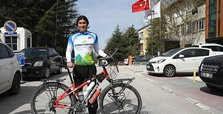 Taiwanese cyclist in Turkey as part of world tour