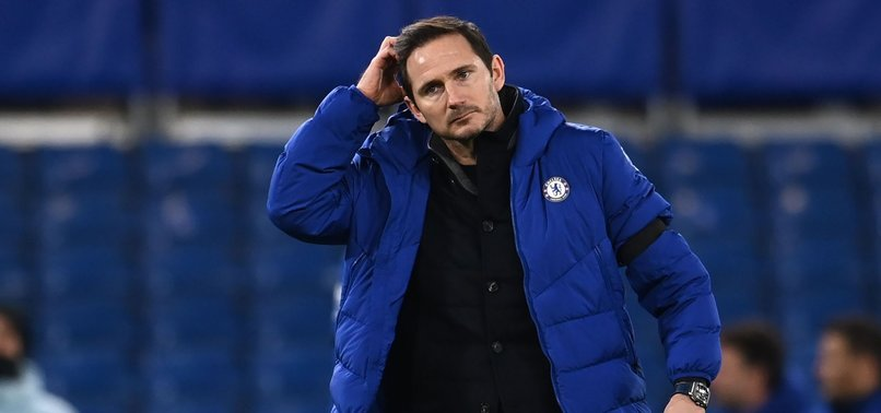 CHELSEA FIRES COACH FRANK LAMPARD HALFWAY THROUGH 2ND SEASON