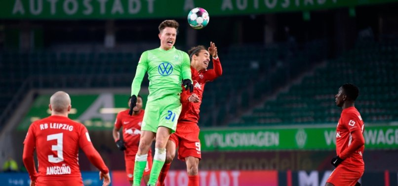 LEIPZIG MISS OUT ON TOP SPOT WITH 2-2 DRAW AT WOLFSBURG