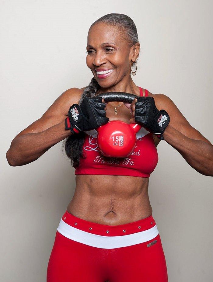 Dünyanın en yaşlı fit kadını