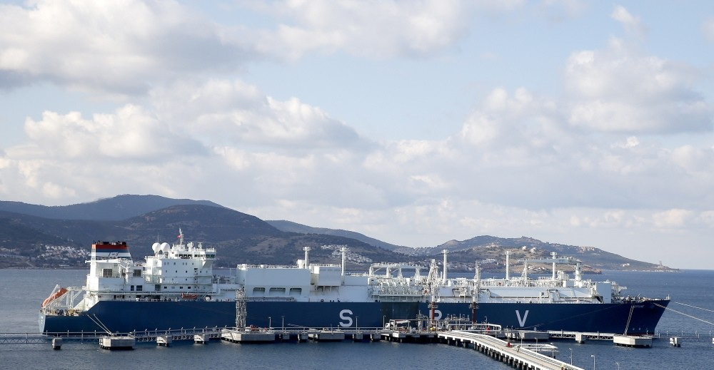 GDF Suez Neptune floating terminal, the first FSRU of Turkey, has arrived in Izmir.