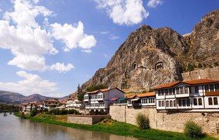 Amasya surprises visitors with magnificent traces of past civilizations