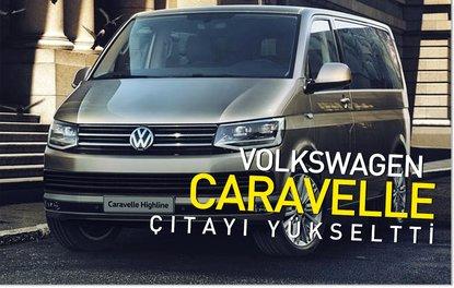 Volkswagen Caravelle çıtayı yükseltti