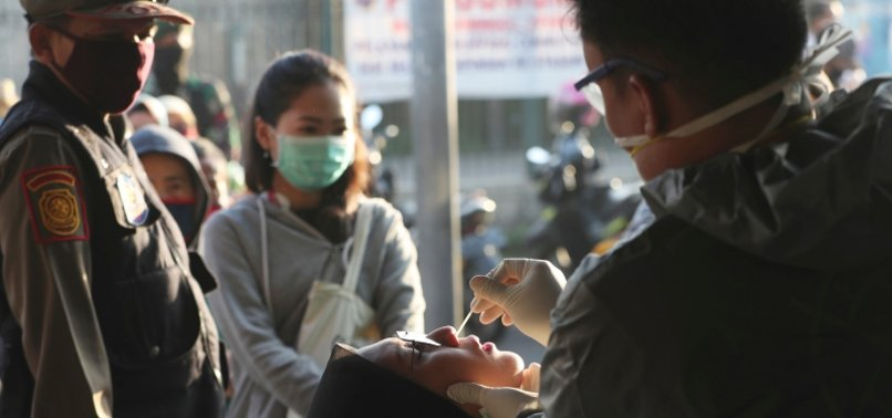 INDONESIA REPORTS BIGGEST DAILY RISE IN CORONAVIRUS INFECTIONS