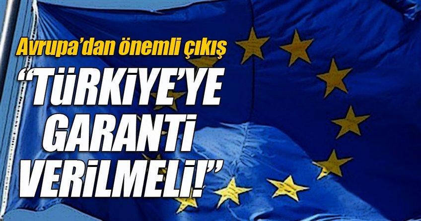 Türkiye, kriterleri yerine getirirse...