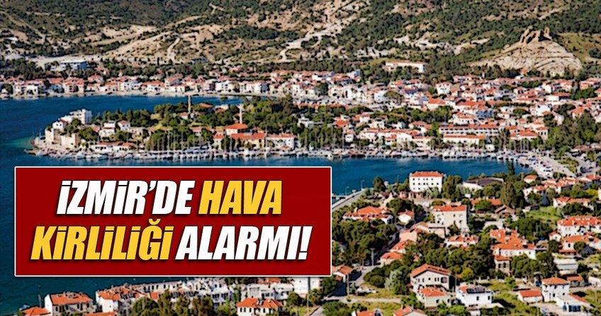 İzmir'de hava kirliliği uyarısı veriliyor!