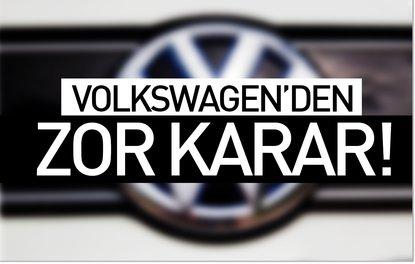 Volkswagenden zor karar !