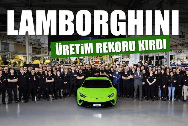 Lamborghini üretim rekoru kırdı