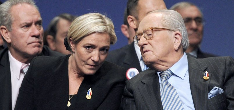 FAR-RIGHT NF FOUNDER LE PEN CHARGED OVER EU FUNDING SCANDAL