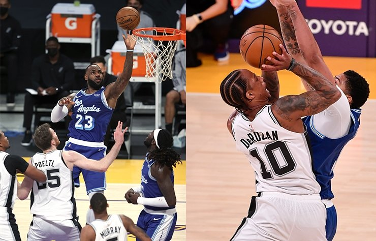 NBA'DE SPURS, LAKERS'IN SERİSİNE SON VERDİ