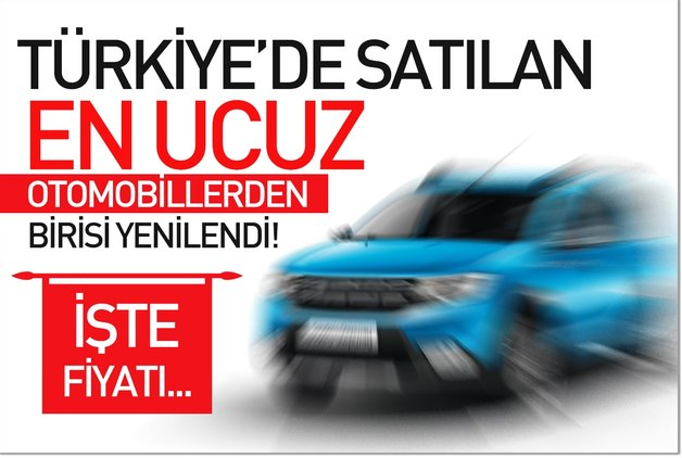 Türkiye'de satılan en ucuz otomobillerden birisi yenilendi ! İşte fiyatı…