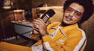 Bruno Mars, Lacoste ile Moda Dünyasına Adım Attı