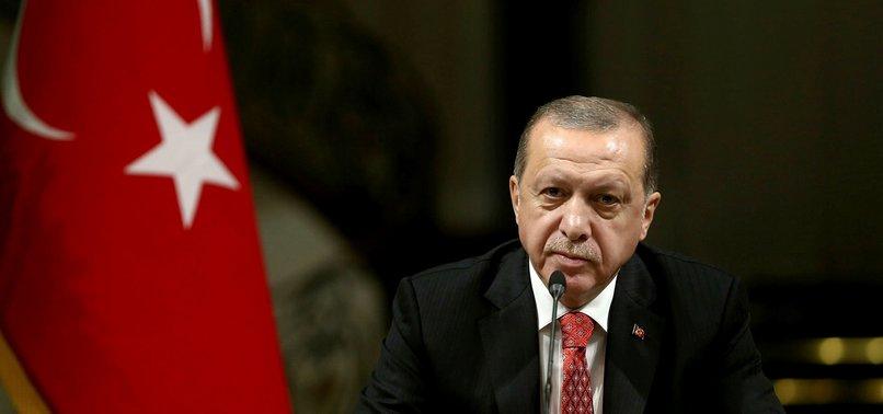 REGIME ATTACKS CAUSING HUMANITARIAN CRISIS IN SYRIA: TURKEYS ERDOĞAN