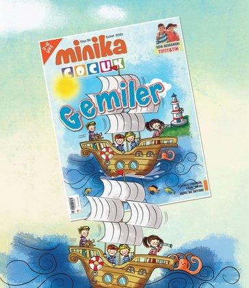01.02.2020 Minika Çocuk Dergi - Sayı: 38