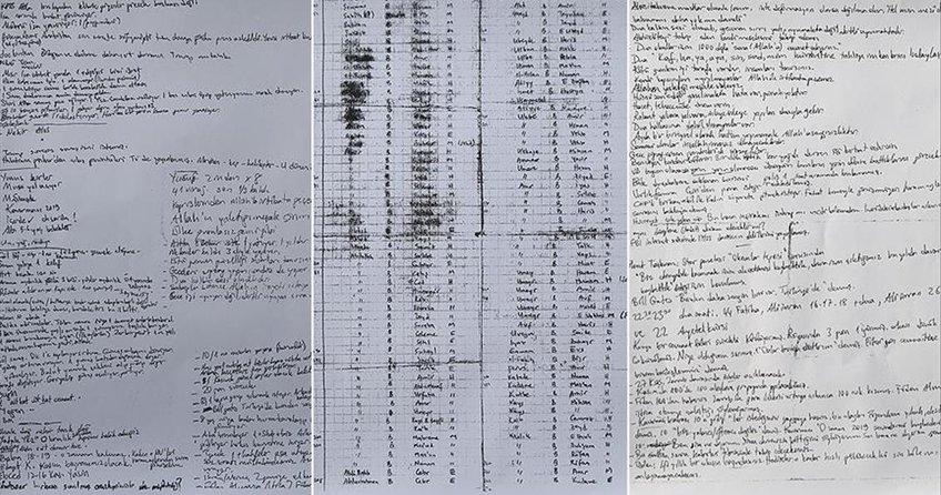 FETÖ sanığının iç çamaşırında sakladığı notlar bulundu