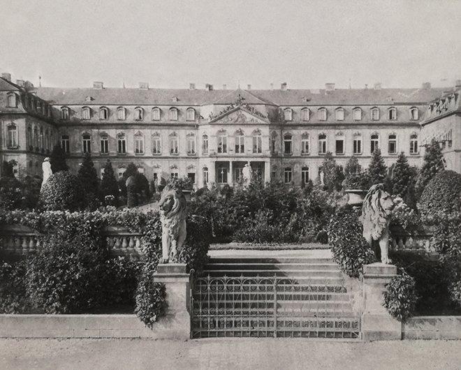 Yeni Saray'da Arslan Heykeli Yolu