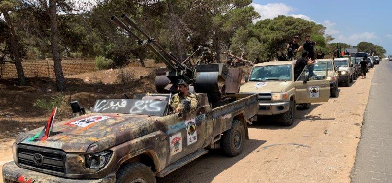 ALGERIA WARNS OF NEW SOMALIA IF LIBYAN TRIBES ARMED