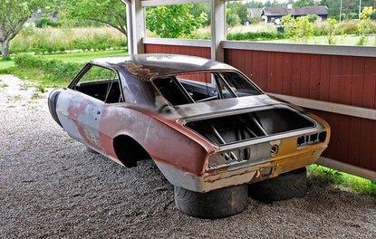 1968 model Chevrolet Camaro'yu yeniden yaptılar