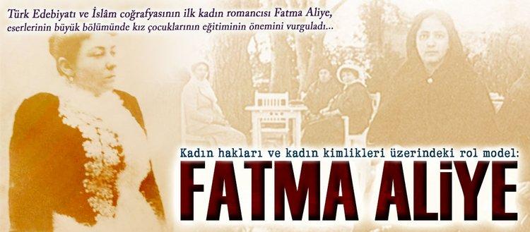 Kadın hakları ve kadın kimlikleri üzerindeki rol model: Fatma Aliye
