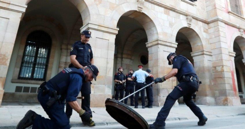 Katalonyada olağanüstü güvenlik önlemleri