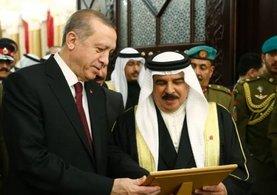 """Cumhurbaşkanı Erdoğan: """"Bahreyn'in yanında olmayı sürdüreceğiz"""" dedi."""
