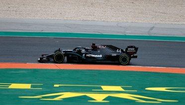 Hamilton, Portekiz'de Rekora Sürdü