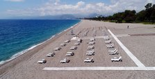 Antalya awaits for visitors with hundreds of eco-friendly beaches