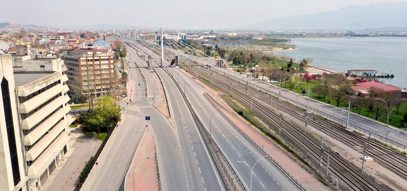TURKEY TO IMPOSE WEEKEND LOCKDOWN IN 15 CITIES AS PART OF CORONAVIRUS MEASURES - INTERIOR MINISTRY