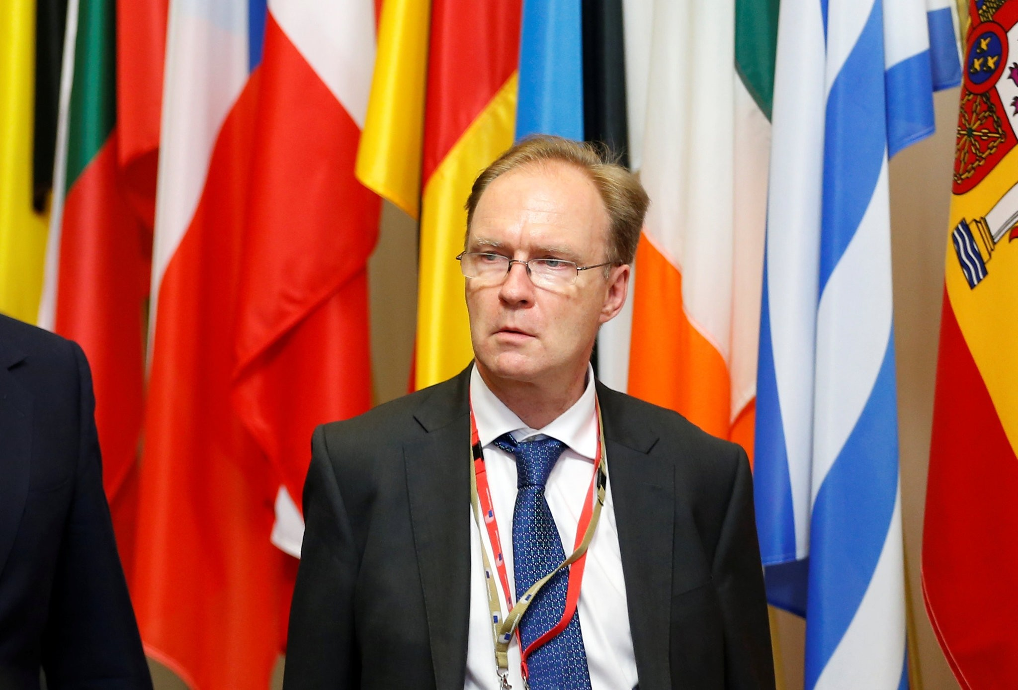 Britain's ambassador to the European Union Ivan Rogers is pictured leaving the EU Summit in Brussels, Belgium, June 28, 2016. (Reuters Photo)
