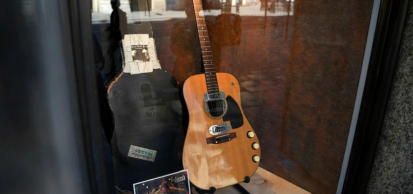 COBAIN UNPLUGGED GUITAR SELLS FOR RECORD $6 MILLION AT AUCTION