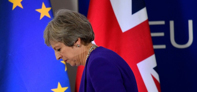 MAY WARNS MPS AGAINST CATASTROPHIC FAILURE TO DELIVER BREXIT