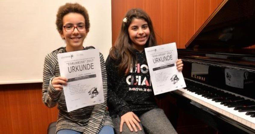 Minik piyanistler dünya 3'üncüsü