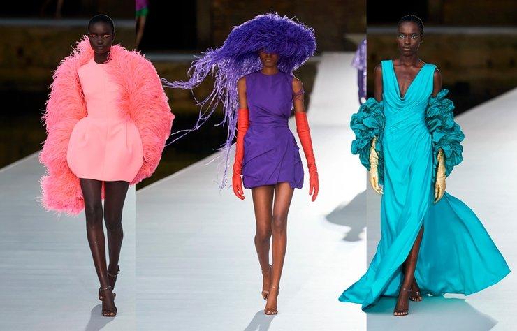 Valentino Couture Sonbahar 2021 koleksiyonu Venedik şehrine saygı duruşunda bulunuyor.