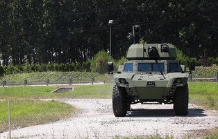 Otokar's electric armored vehicle hits the roads