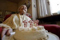 World's oldest person celebrates her 117th birthday in Italy