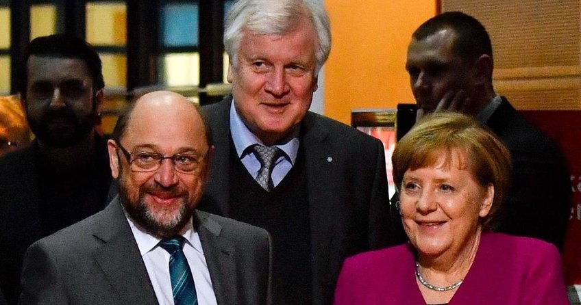 Almanyada koalisyon anlaşması sağlandı, hükümet krizi bitti!