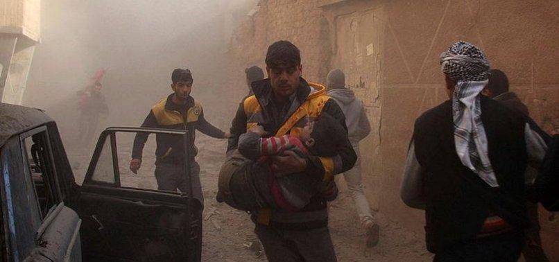 16 CIVILIANS KILLED IN ASSAD REGIME BOMBARDMENT NEAR DAMASCUS, MONITOR SAYS