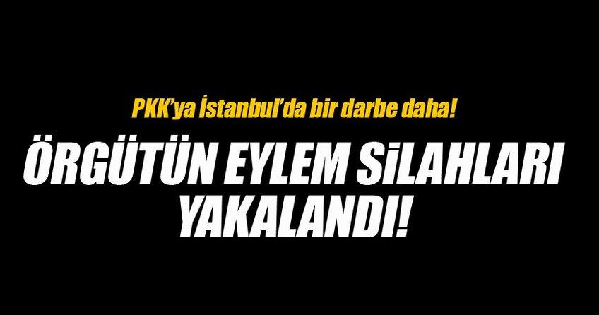 PKK'nın silahları yakalandı