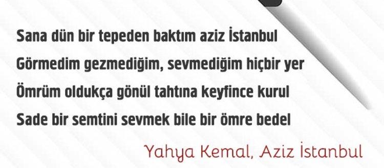 Yahya Kemal'in en çok sevilen 20 şiiri