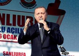 Cumhurbaşkanı Recep Tayyip Erdoğan Şanlıurfa'da flaş açıklamalarda bulundu
