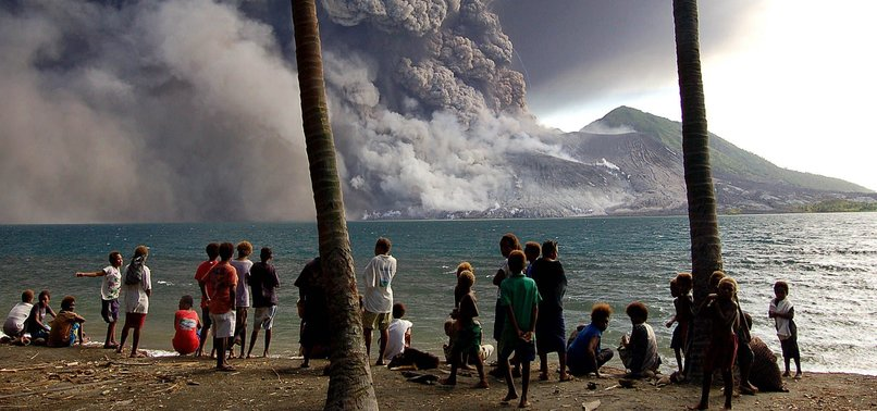 Volcano erupts on remote Papua New Guinea island - anews