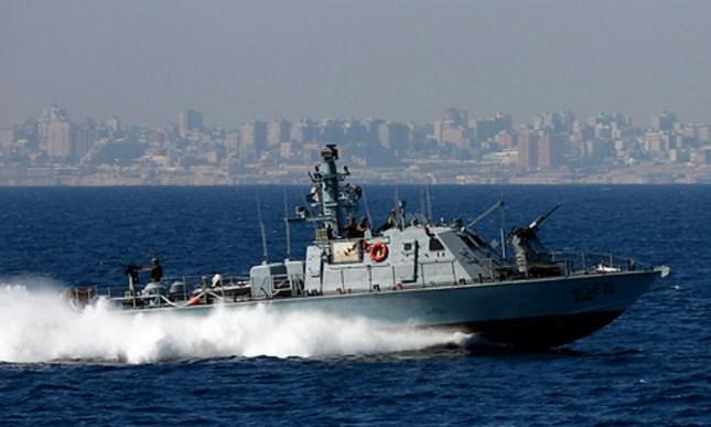 Israeli patrol boat off the Gaza shore. (Reuters Photo)