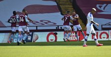 Trezeguet double gives Villa lifeline win over Palace